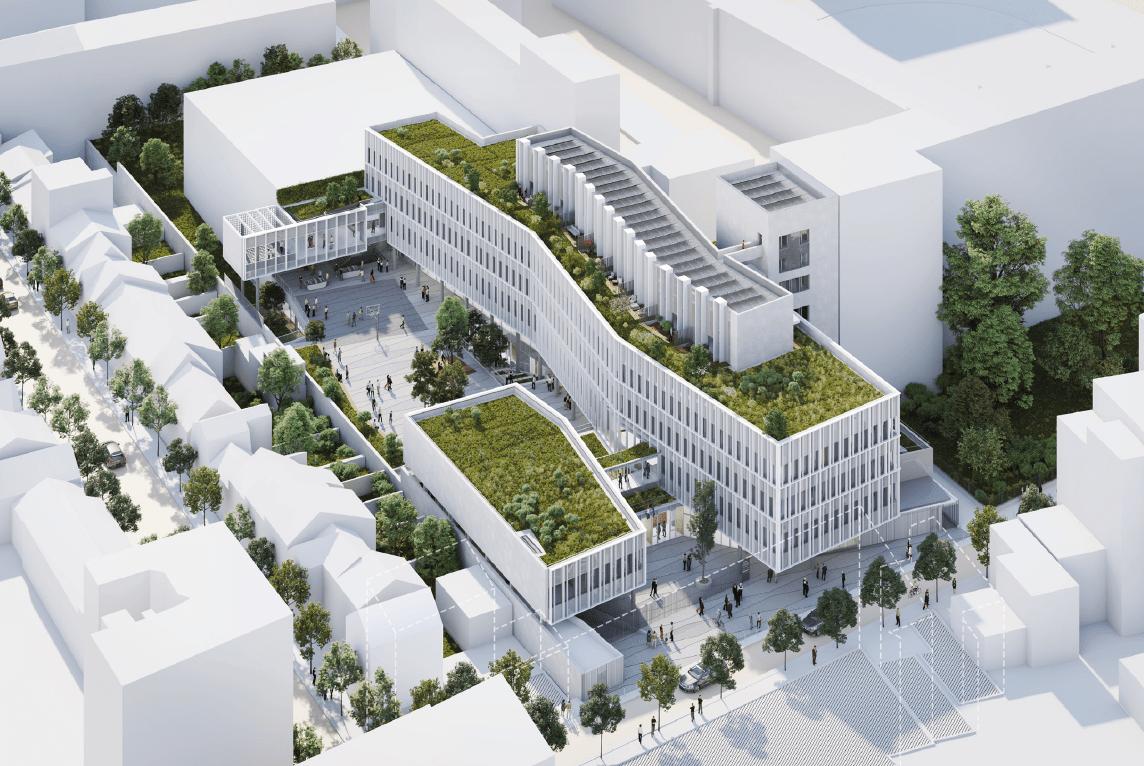 construction du lycée international de Vincennes détails projets